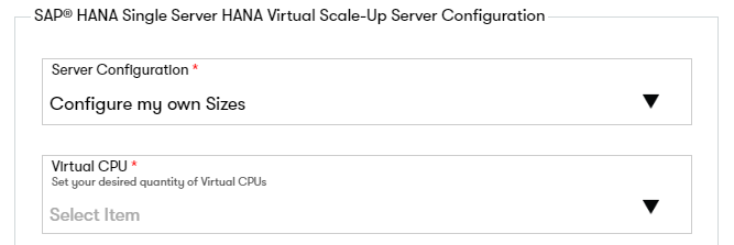 Configuring a SAP HANA Single Server SID