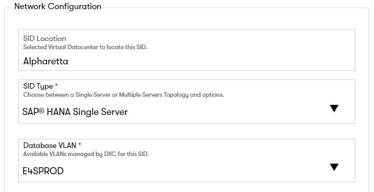 Configuring a SAP HANA Single Server SID